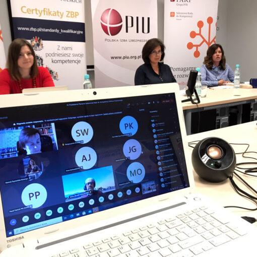 16. posiedzenie plenarne Sektorowej Rady ds. Kompetencji Sektora Finansowego online