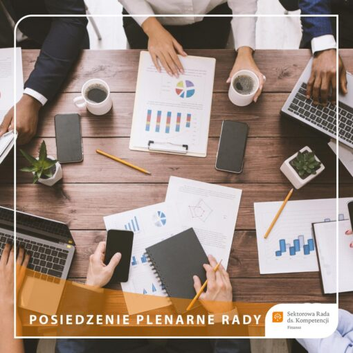 18. posiedzenie plenarne Sektorowej Rady ds. Kompetencji Finanse (grafika ilustracyjna)