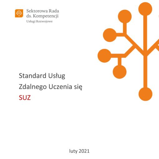 Standard Usług Zdalnego Uczenia się - SUZ - Okładka